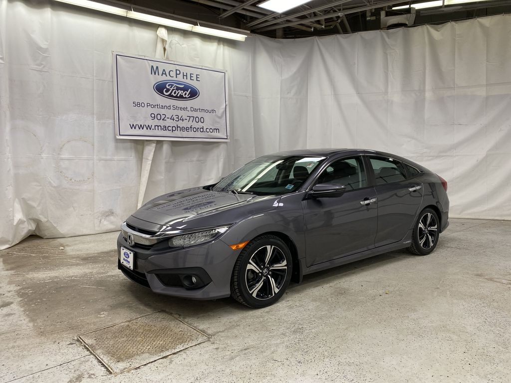 Gray[Modern Steel Metallic] 2016 Honda Civic Sedan