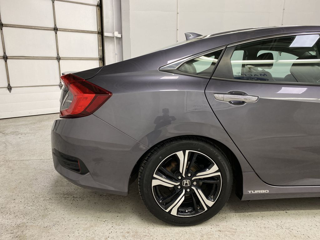 Gray[Modern Steel Metallic] 2016 Honda Civic Sedan Right Rear Corner Photo in Dartmouth NS