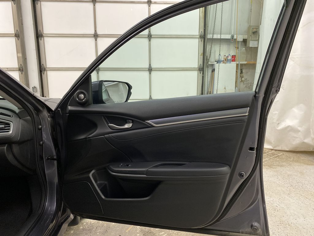 Gray[Modern Steel Metallic] 2016 Honda Civic Sedan Right Front Interior Door Panel Photo in Dartmouth NS