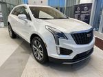 White[Crystal White Tricoat] 2021 Cadillac XT5 Right Front Corner Photo in Edmonton AB
