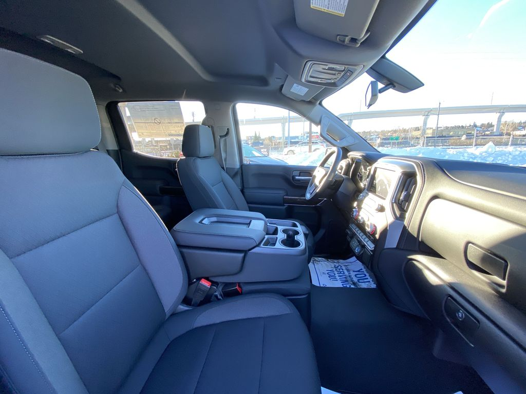 Black[Onyx Black] 2021 GMC Sierra 1500 Elevation Right Side Front Seat  Photo in Calgary AB