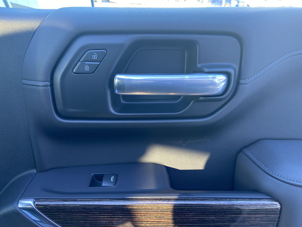 Black[Onyx Black] 2021 GMC Sierra 1500 Elevation Passenger Front Door Controls Photo in Calgary AB