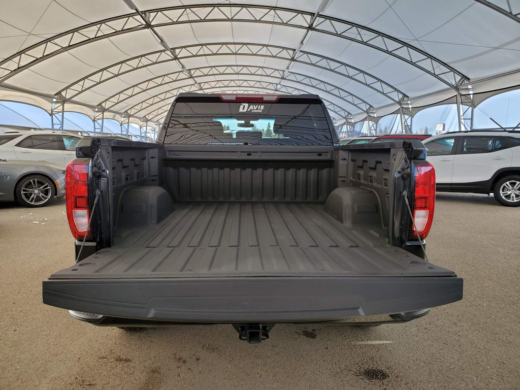 Black 2019 GMC Sierra 1500 Rear of Vehicle Photo in Airdrie AB