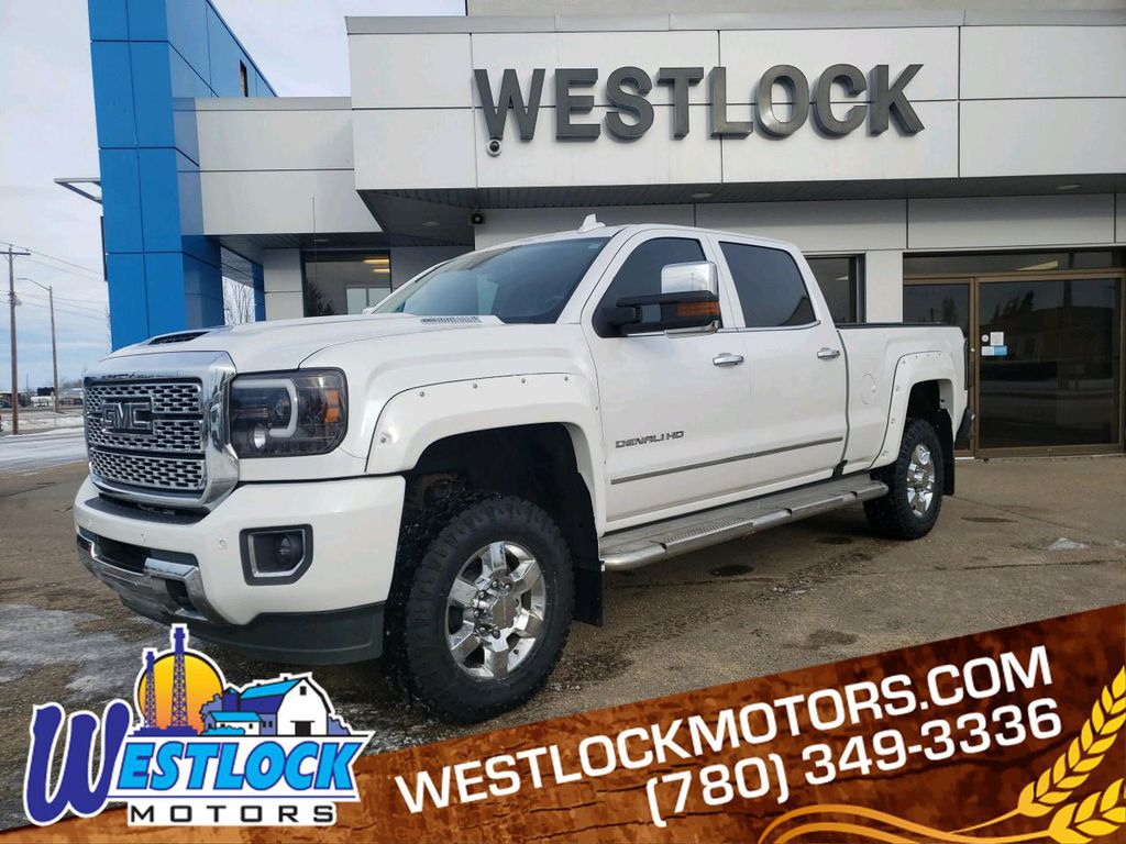 White 2018 GMC Sierra 3500HD