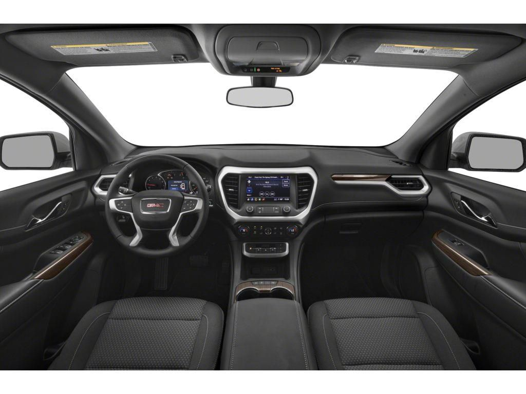 White 2021 GMC Acadia Driver's Side Door Controls Photo in Lethbridge AB