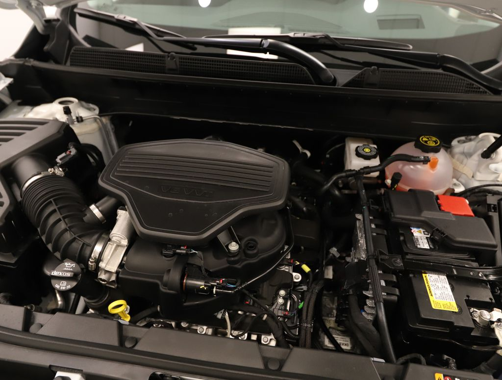 White 2021 GMC Acadia Engine Compartment Photo in Lethbridge AB