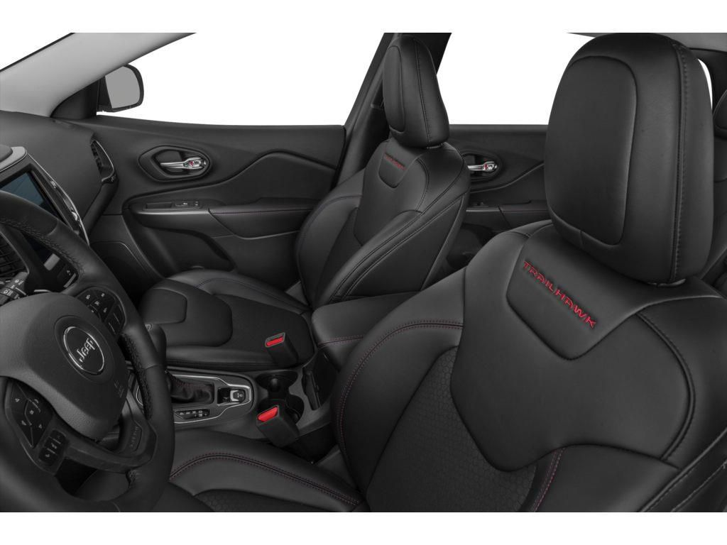 Black 2020 Jeep Cherokee Left Front Interior Photo in Fort Macleod AB