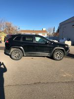 Black 2020 Jeep Cherokee Left Front Rim and Tire Photo in Fort Macleod AB