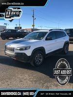 White 2020 Jeep Cherokee Primary Listing Photo in Fort Macleod AB