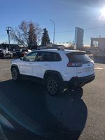 White 2020 Jeep Cherokee Left Front Corner Photo in Fort Macleod AB