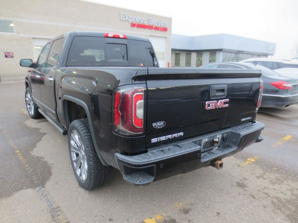 Black 2017 GMC Sierra 1500 Left Front Head Light / Bumper and Grill in Lethbridge AB