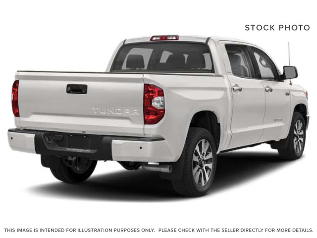White[Alpine White] 2018 Toyota Tundra Right Rear Corner Photo in Fort Macleod AB