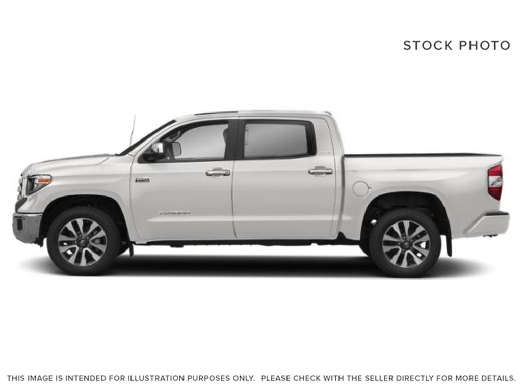 White[Alpine White] 2018 Toyota Tundra Left Side Photo in Fort Macleod AB