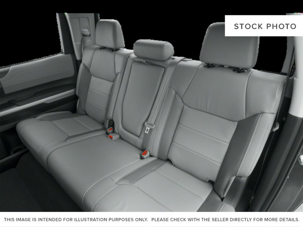 White[Alpine White] 2018 Toyota Tundra Left Side Rear Seat  Photo in Fort Macleod AB