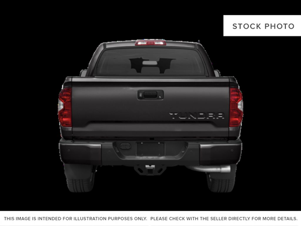 White[Alpine White] 2018 Toyota Tundra Rear of Vehicle Photo in Fort Macleod AB