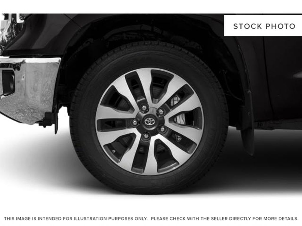 White[Alpine White] 2018 Toyota Tundra Left Front Rim and Tire Photo in Fort Macleod AB