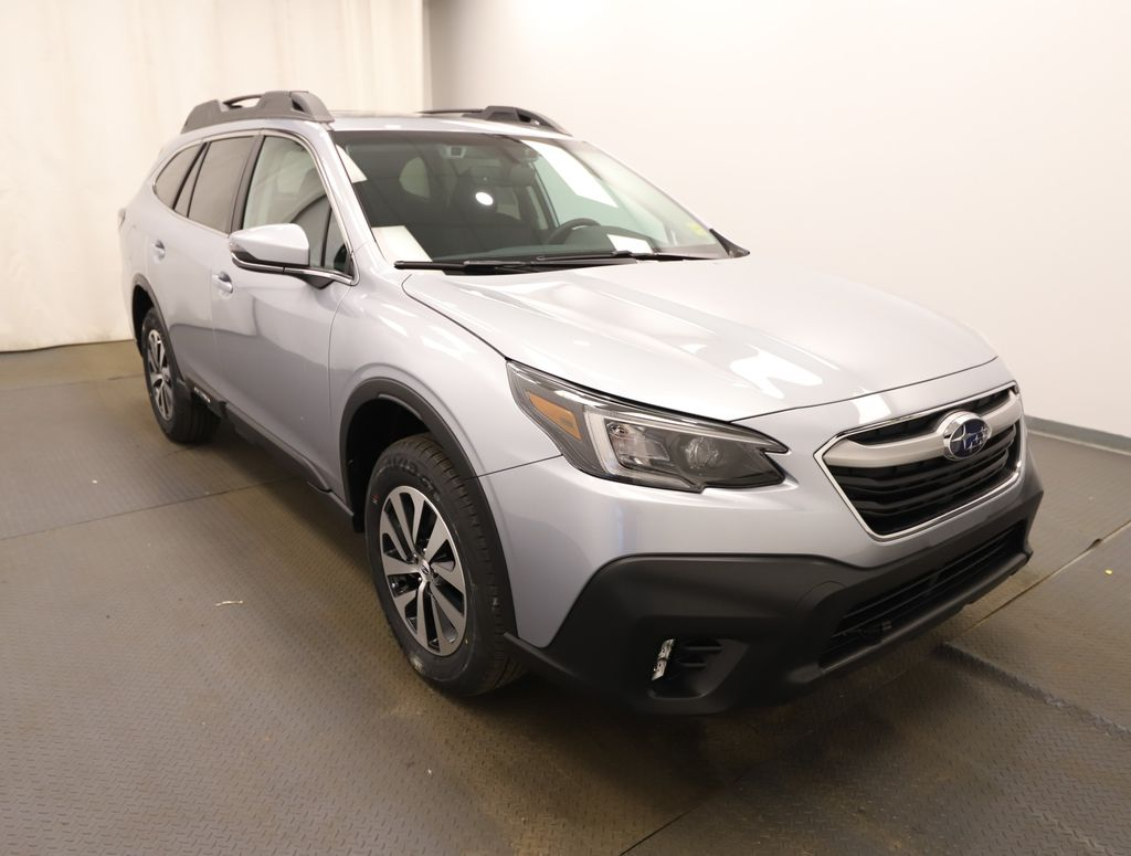 Silver 2021 Subaru Outback Left Front Head Light / Bumper and Grill in Lethbridge AB