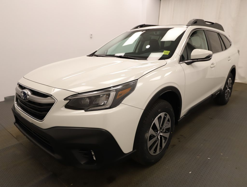 White 2021 Subaru Outback Left Front Head Light / Bumper and Grill in Lethbridge AB