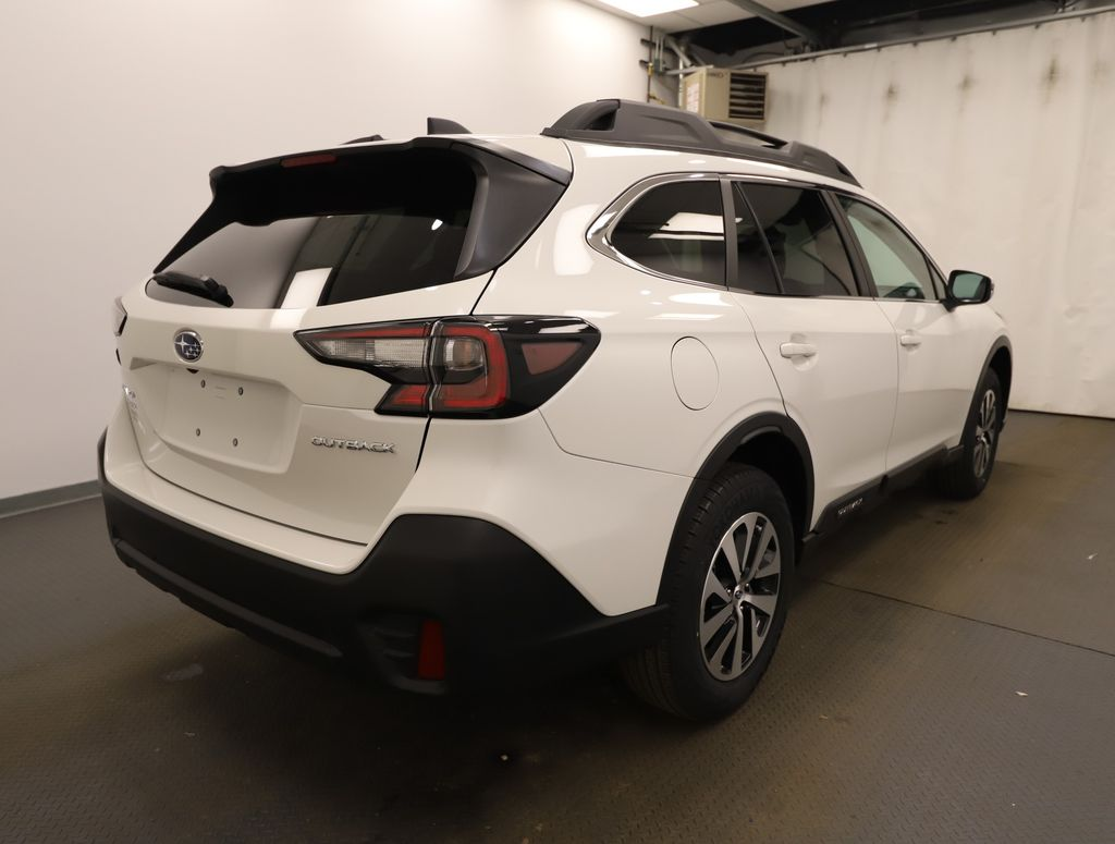 White 2021 Subaru Outback Left Front Rim and Tire Photo in Lethbridge AB