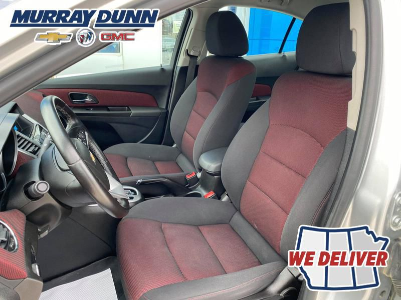 Silver 2014 Chevrolet Cruze Driver's Seat Back Photo in Nipawin SK