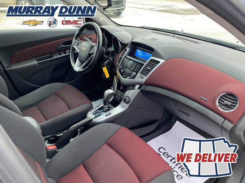 Silver 2014 Chevrolet Cruze Front Right Interior Photo in Nipawin SK