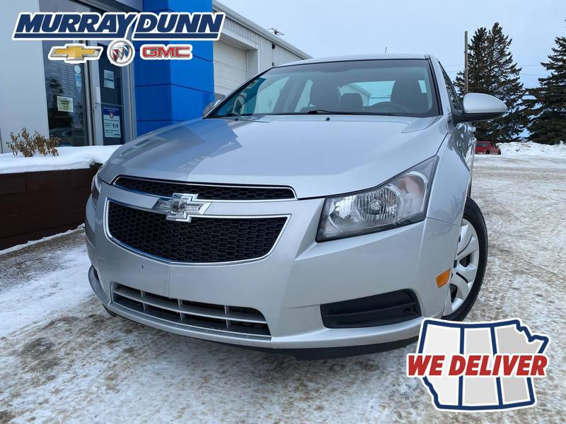 Silver 2014 Chevrolet Cruze LF Corner and Fog Lights (Low) in Nipawin SK