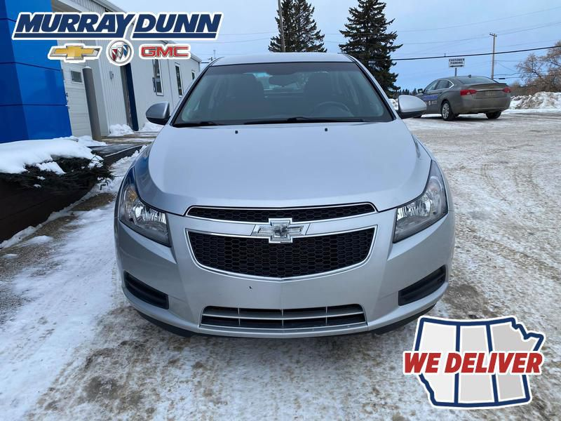 Silver 2014 Chevrolet Cruze Front Vehicle Photo in Nipawin SK