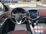 Silver 2014 Chevrolet Cruze Steering Wheel and Dash Photo in Nipawin SK