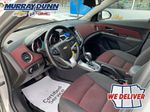 Silver 2014 Chevrolet Cruze Left Front Interior Photo in Nipawin SK