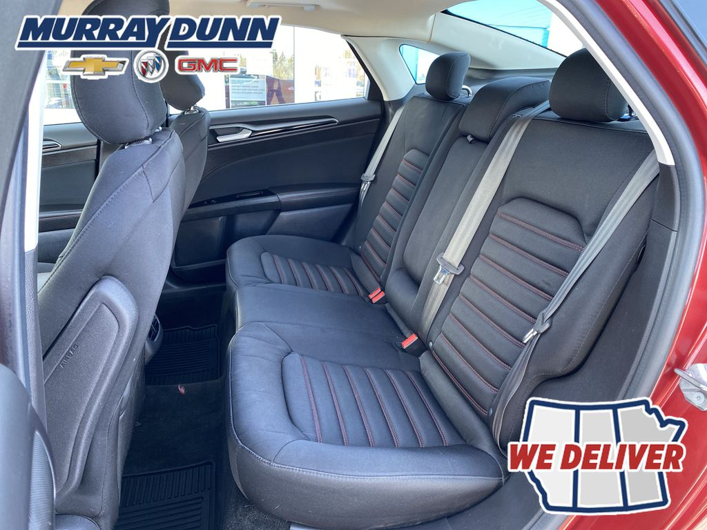 Red[Ruby Red Metallic Tinted Clearcoat] 2016 Ford Fusion Rear Seat Back Photo in Nipawin SK