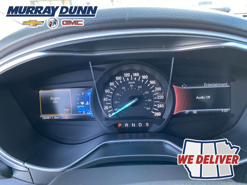 Red[Ruby Red Metallic Tinted Clearcoat] 2016 Ford Fusion Odometer Photo in Nipawin SK
