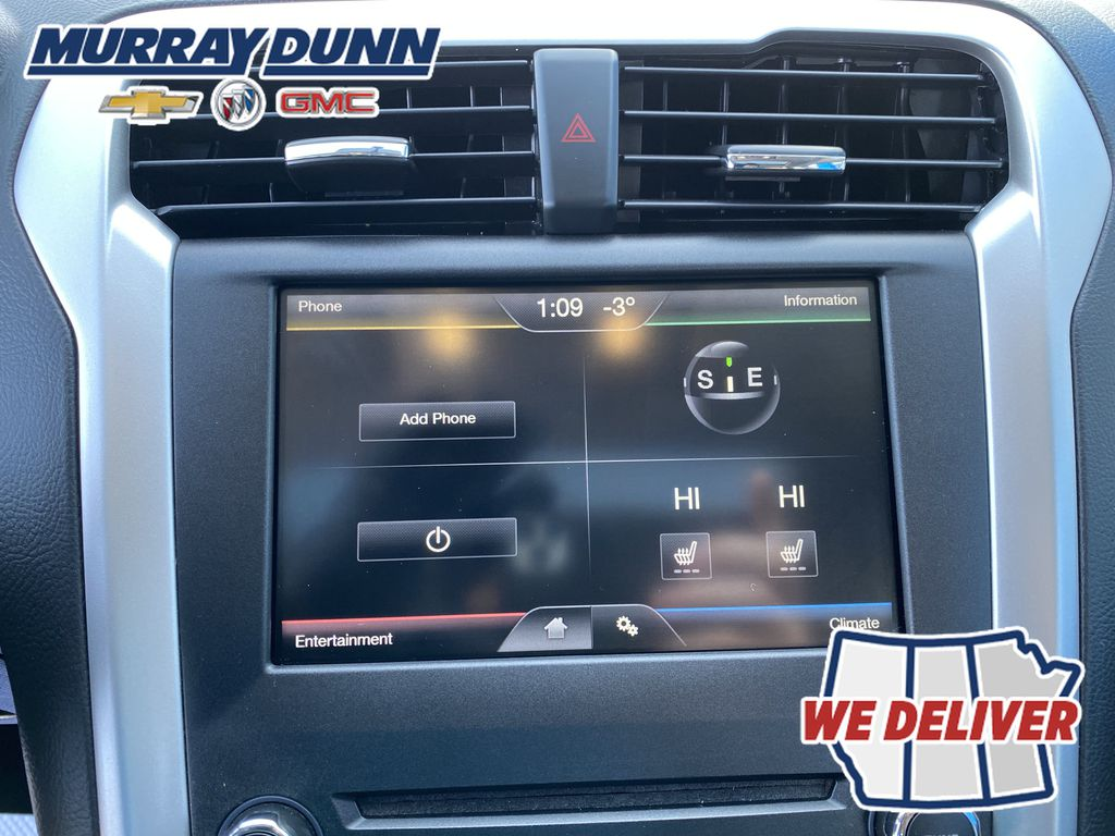Red[Ruby Red Metallic Tinted Clearcoat] 2016 Ford Fusion Central Dash Options Photo in Nipawin SK