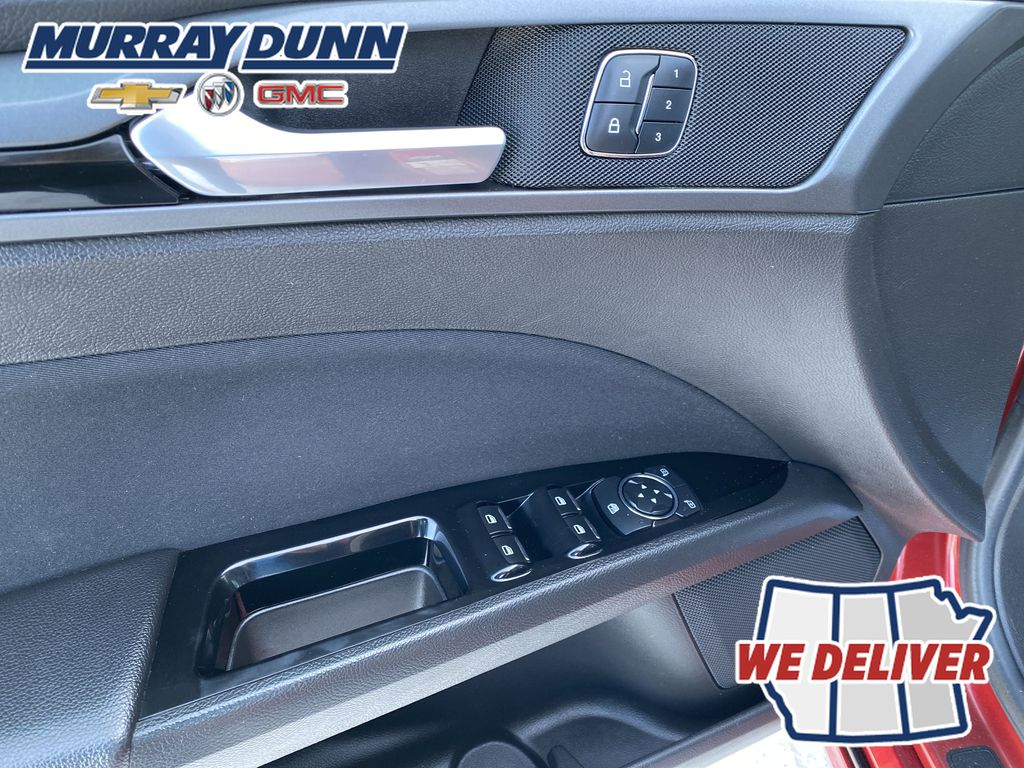 Red[Ruby Red Metallic Tinted Clearcoat] 2016 Ford Fusion  Driver's Side Door Controls Photo in Nipawin SK