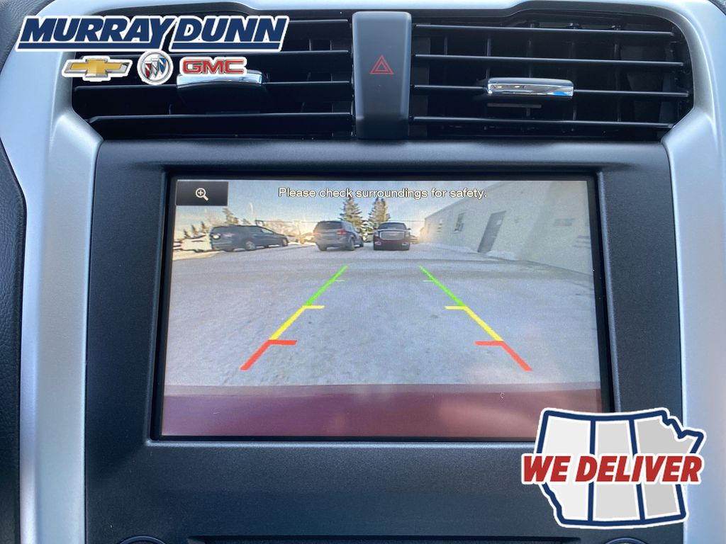Red[Ruby Red Metallic Tinted Clearcoat] 2016 Ford Fusion Backup Camera Screen Photo in Nipawin SK