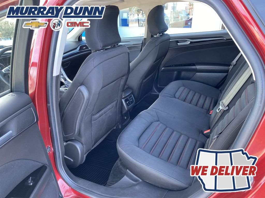 Red[Ruby Red Metallic Tinted Clearcoat] 2016 Ford Fusion Third Row Seat Photo in Nipawin SK
