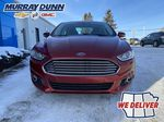 Red[Ruby Red Metallic Tinted Clearcoat] 2016 Ford Fusion Front Vehicle Photo (Low) in Nipawin SK