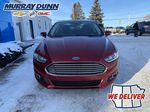 Red[Ruby Red Metallic Tinted Clearcoat] 2016 Ford Fusion Front Vehicle Photo in Nipawin SK