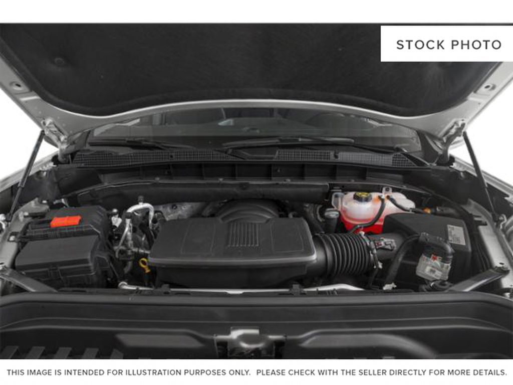 Black[Onyx Black] 2021 GMC Sierra 1500 Engine Compartment Photo in Edmonton AB