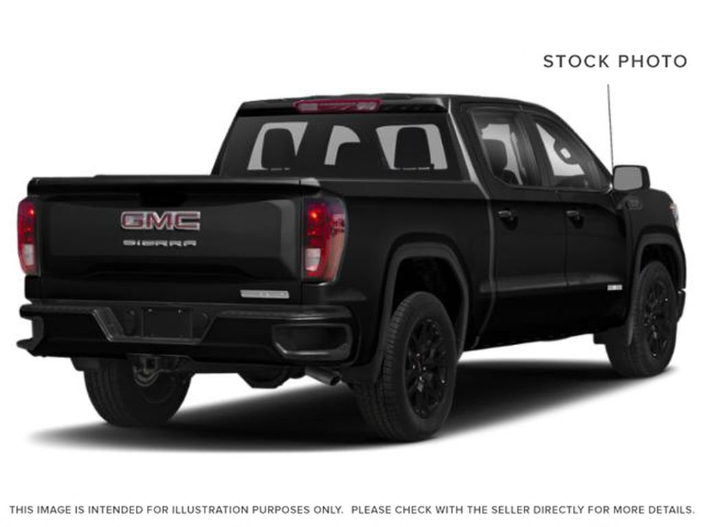 Black[Onyx Black] 2021 GMC Sierra 1500 Right Rear Corner Photo in Edmonton AB