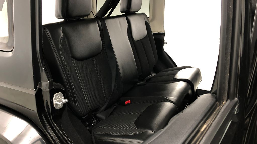 Black[Black] 2016 Jeep Wrangler Unlimited Back Country - Manual, Leather, NAV Right Side Rear Seat  Photo in Winnipeg MB