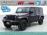 Black[Black] 2016 Jeep Wrangler Unlimited Back Country - Manual, Leather, NAV Primary Listing Photo in Winnipeg MB