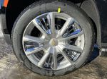 Black[Black] 2021 Chevrolet Tahoe High Country Left Front Rim and Tire Photo in Calgary AB