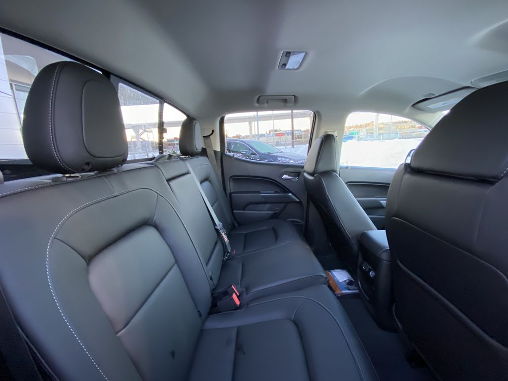 Black[Black] 2021 Chevrolet Colorado LT Right Side Rear Seat  Photo in Calgary AB