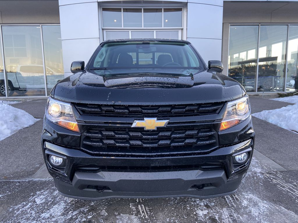 Black[Black] 2021 Chevrolet Colorado LT Front Vehicle Photo in Calgary AB
