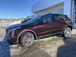 Red[Garnet Metallic] 2021 Cadillac XT4 Sport Left Front Corner Photo in Calgary AB