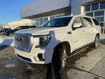 White[White Frost Tricoat] 2021 GMC Yukon XL Denali Left Front Head Light / Bumper and Grill in Calgary AB