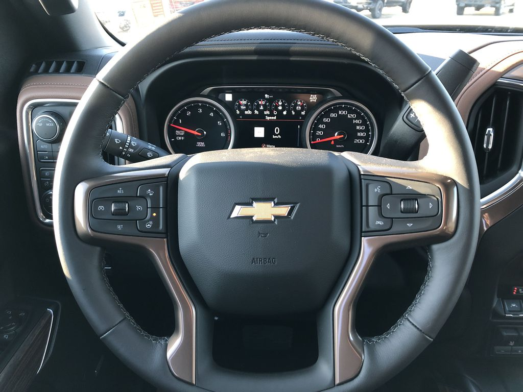 Black[Black] 2021 Chevrolet Silverado 1500 Strng Wheel: Frm Rear in Edmonton AB