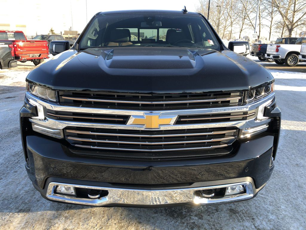 Black[Black] 2021 Chevrolet Silverado 1500 Front Vehicle Photo in Edmonton AB