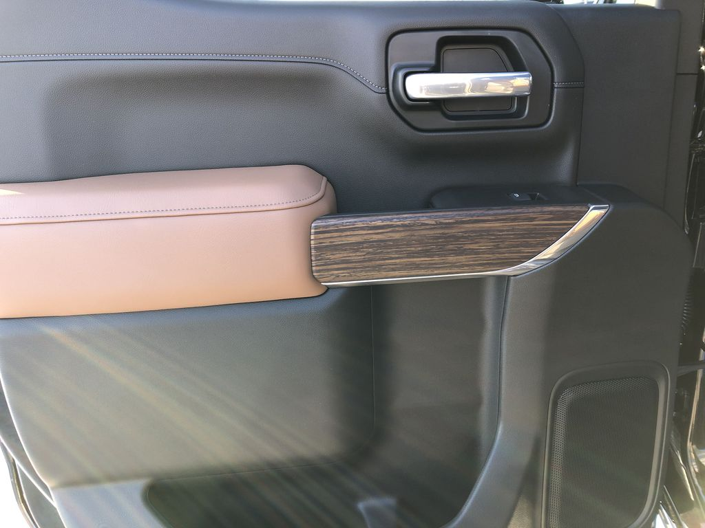 Black[Black] 2021 Chevrolet Silverado 1500 Left Rear Interior Door Panel Photo in Edmonton AB
