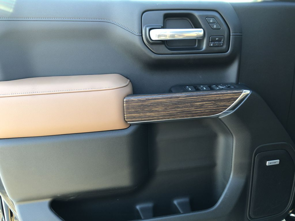 Black[Black] 2021 Chevrolet Silverado 1500 Left Front Interior Door Panel Photo in Edmonton AB